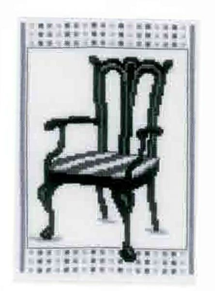 Barok Chair ll  Cross Stitch Kit